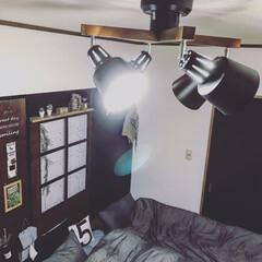 引き戸リメイク/引き戸/寝室照明器具/ベッドヘッド/ベッド/寝室/...