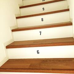 ステンシル 跳び箱階段