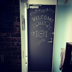リメイクシート 黒板シート&チョークアート