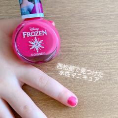 西松屋/女の子/水性マニキュア 最近娘がペンで爪を塗ることを覚えてしまっ…