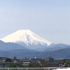 島忠ホームズ小平店/富士山/風景/平成最後の一枚 平成最後の快晴で  職場の屋上から素晴ら…