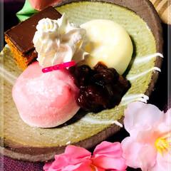 おもてなし/和風スイーツ/アイス/お家カフェ/雪見だいふく/おうちカフェ いつもの雪見だいふくをバージョンアップ✨…