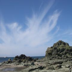 千畳敷/青森県/海岸 青森県、千畳敷海岸の夏です!