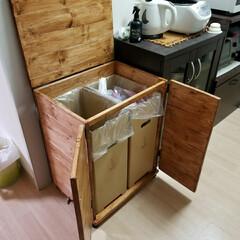 カバー/ゴミ箱/DIY/キッチン/収納/SU-Craft