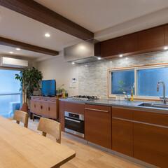 キッチン/ダイニング/デザイン/オーダーメイド/リノベーション K様邸