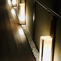 古民家リフォーム/廊下/行灯/100均/ダイソー 和紙があったので行灯を作りました。1枚目…