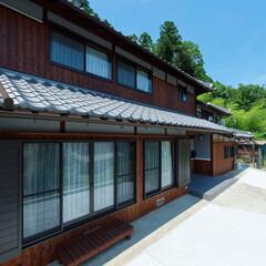 外壁/工事/リフォーム/焼き板/木/加西市/... 外壁は全面焼き板仕上げに。(加西市S様邸…