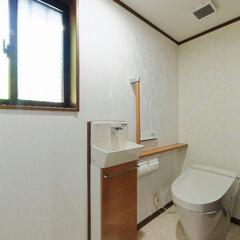間取り/バリアフリー/住宅/家/古民家/トイレ/... ご高齢のお母様の部屋のすぐ近くにトイレを…
