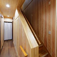 無垢材/無垢の家/自然素材/天然木/木の家/リフォーム/... 無垢材を使って、天然木のぬくもりを感じら…