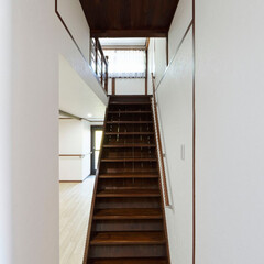 階段/手すり/バリアフリー/安全/加西市/古民家/... 階段には手すりを付けて、安全に昇り降りで…