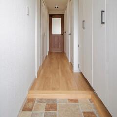 カーペット/廊下/フローリング/ドア/インテリア/建具/... カーペットが敷かれていた廊下はフローリン…(1枚目)