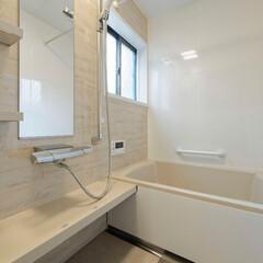 タイルのお風呂/在来浴室/システムバス/ユニットバス/バリアフリー/介護/... タイルのお風呂からシステムバスに変更、高…