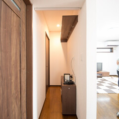 LDK/リビング/収納/ウォークインクローゼット/廊下/間取り変更/... LDK横のこちらのスペースは、もともと廊…