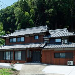 日本/日本家屋/趣/外観/家/住宅/... 伝統的な日本家屋の趣きが残った外観。屋根…