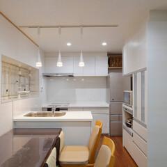 間口が狭い/狭いキッチン/対面キッチン/キッチンリフォーム/キッチンレイアウト/間取り 間口が狭くても対面キッチンにできる!キッ…