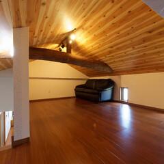 ロフト/屋根裏部屋/物置/趣味部屋/子ども部屋/子供部屋/... 隠れ家のようなロフト。 子どもの遊び場・…