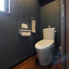 おしゃれなトイレ/落ち着くトイレ/おしゃれなインテリア/落ち着くインテリア/シック/インテリア/... おしゃれで落ち着くトイレ(加古川市O様邸…
