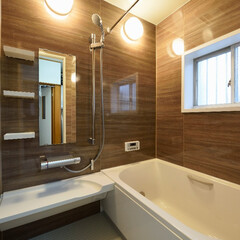 お風呂リフォーム/浴室リフォーム/タイル/システムバス/システムバスリフォーム/リクシル/... タイルのお風呂からシステムバスにリフォー…