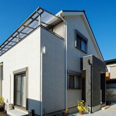 シンプルな家/外観/外壁/高砂市/建て替え/一戸建て/... シンプルで飽きのこない外観デザイン(高砂…