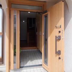玄関ドア/玄関/扉/ドア/リフォーム/サッシ/... 玄関ドアを交換して気分一新 加古川市I様…