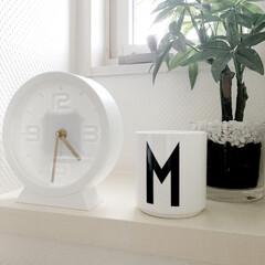 シンプルな暮らし/シンプルインテリア/置き時計/時計/ダイワハウス/プチプラ/... キャンドゥでの購入品です! こちらの時計…(2枚目)