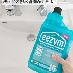 イージム/パイプクリーナー/eezym(パイプ用ブラシ)を使ったクチコミ「定期的な排水口洗浄のススメ✨ イージムの…」