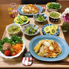 おうちごはん/丼/どんぶり/よしざわ窯/ふたりごはん/至福のひととき オットが食べたいって言うてた中華丼を久し…