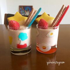 デザート/おやつ/豆乳/ヘルシー/おうちごはん/フード/... 今日はいい天気で暑いくらいなので冷凍して…
