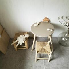 椅子 /スツール/海外インテリア/DIY/雑貨/インテリア/... 右手前が先ほどフォトにアップした、ペーパ…