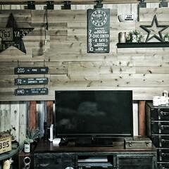 原状回復/ツーバイフォー材/LABRICO/セルフリノベーション/板壁DIY/WOODPRO足場板/... LABRICOさんで板壁を作ったZONE…