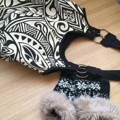 バッグ/手袋/肩掛けバッグ/お出かけバッグ/季節感ない/夏と冬 夏みたいなバッグだけど、私のお気に入り。…