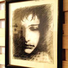 絵画/絵/インテリア/アンティーク/クラシック/海外/... 高校生の時に描きました。  これを見ると…