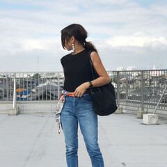 GU/夏コーデ/ファッション この夏大活躍のGUのワッフルスリープレスT