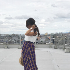 GU/夏コーデ/ファッション 全身GUのプチプラコーデ