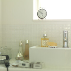 洗面/イメージフォト 生活感を写し込む撮影