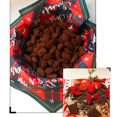 チョコレート/イチゴ/ドームケーキ/アマンドショコラ/クリスマス/スイーツ/... 今日は、アマンドショコラとドームケーキを…