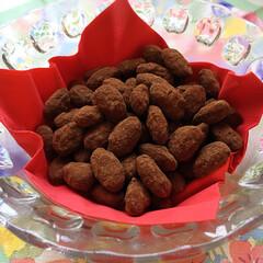アーモンド/チョコレート/スイーツ/フード/ハンドメイド アマンドショコラをまた作りました。 一番…