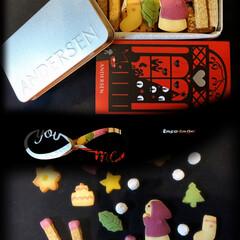 イチゴ/アンデルセン/クッキー/マッチ売りの少女/ロールケーキ/スイーツ マッチ売りの少女のクッキーを頂きました。…