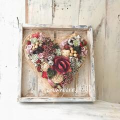 花のある生活/花のある暮らし/ギフト/結婚祝い/花雑貨/花/... ご結婚祝いのプレゼントとして作らせて頂き…