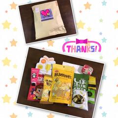 はるばる💕お土産🎁💕/フォカッチャ/筍中華風 昨日、私のお家にも 韓国のお土産🎁💕届い…