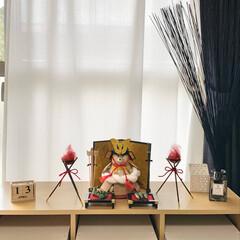 https://minne.com.../ATELIER LA LUNE/minneで販売中/minneやってます/五月人形/しろくま貯金箱着せ替え/... 今日、五月人形出しました。 しろくま貯金…(1枚目)