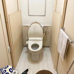 Room Clipやってます/Facebookやってます/インスタやってます/団地でも諦めない/団地住まい/重い腰をちょっとだけ上げて/... 去年から放置していたトイレ改造計画、ちょ…