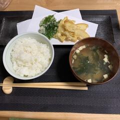 寝落ち/キッチン/ショボい/筍と大葉の天ぷら/今日の夕食/おうち時間を楽しむ/... 疲れが取れなくて寝落ちしてた💦 慌てて晩…