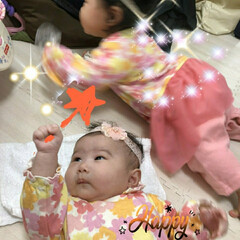 魔法使いは赤ちゃん/ハロウィン2019 二人の孫娘達、おそろいの服をきて記念撮影…