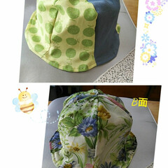 チューリップハット/春のフォト投稿キャンペーン/LIMIA手作りし隊/ファッション/わたしの手作り こんばんは〜。 昨日に続いて、大人用の帽…