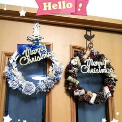 クリスマスプレート/クリスマスリース/100均/インテリア/雑貨/ハンドメイド クリスマスムードが、街に溢れてきましたね…