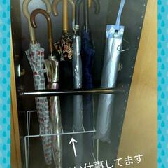 傘立て/収納 玄関の傘立てコーナーの中で、傘がごちゃご…