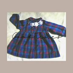 子ども服/ハンドメイド 30年前に娘が1歳を迎えた頃に、作ったワ…(1枚目)