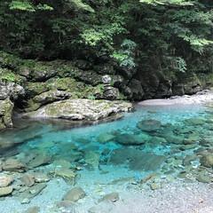 仁淀川/仁淀ブルー/高知県/日本一 日本一美しいと言われている、高知県の仁淀…