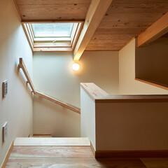 木造/住まい/住宅/古民家/古材/木/... 鎌倉の長屋 の竣工写真  ロフトへは固定…